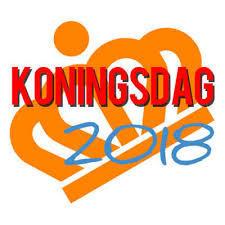 KONINGSDAG  27 April 2018  BRUNCH om 11.00 uur !!!!!
