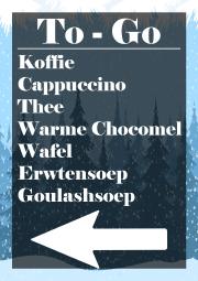 Iedere vrijdag tot en met zondag Koffie/thee, wafels en soep TO GO vanaf 12.00 uur